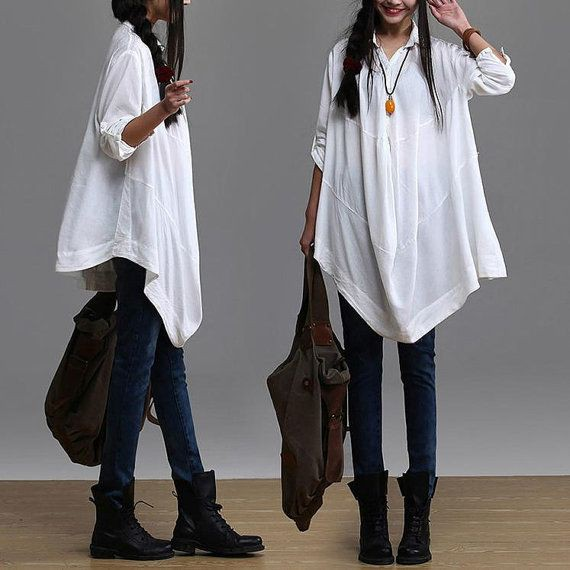 White colour outfit, you must try with trousers, sweater, blouse