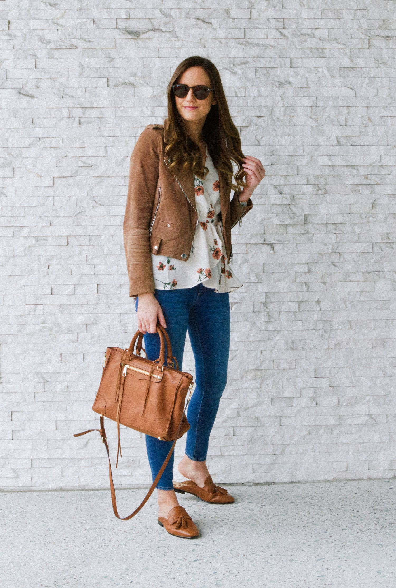 Style brown loafers outfit women