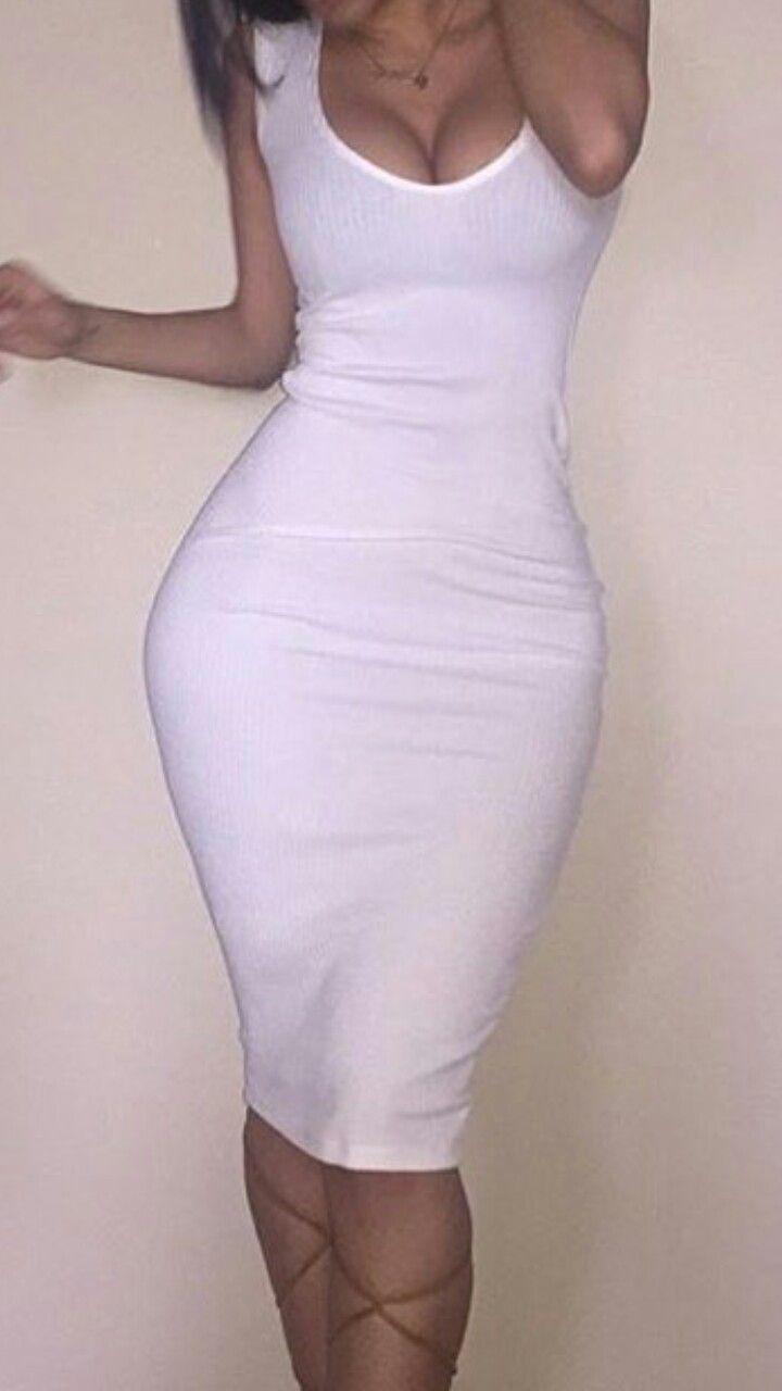Vestidos pegado largos al cuerpo