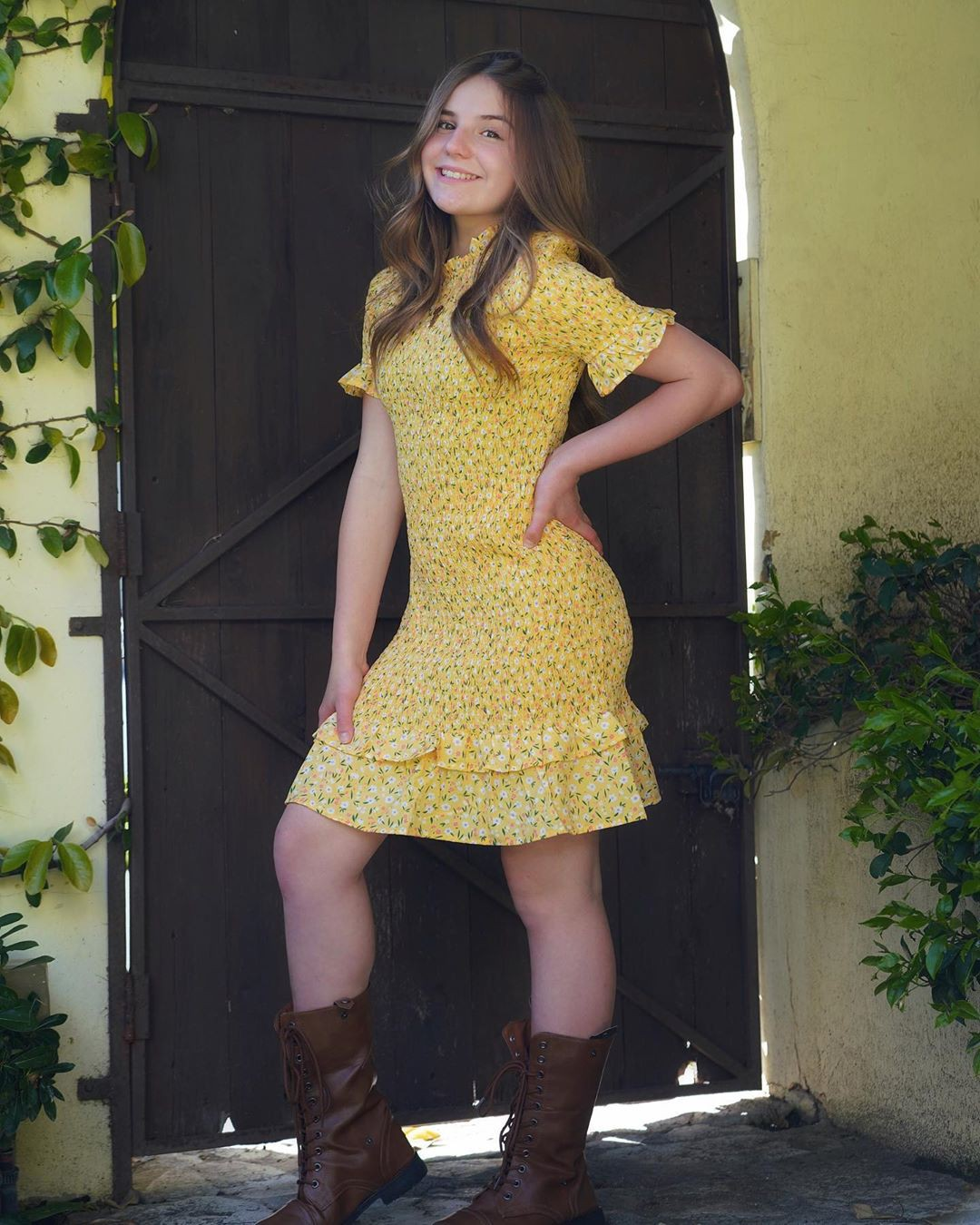 yellow dresses ideas with dress, woman thighs, legs picture