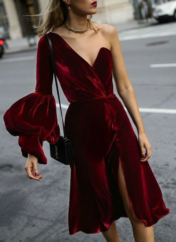 Maroon and red colour ideas with cocktail dress, dress skirt