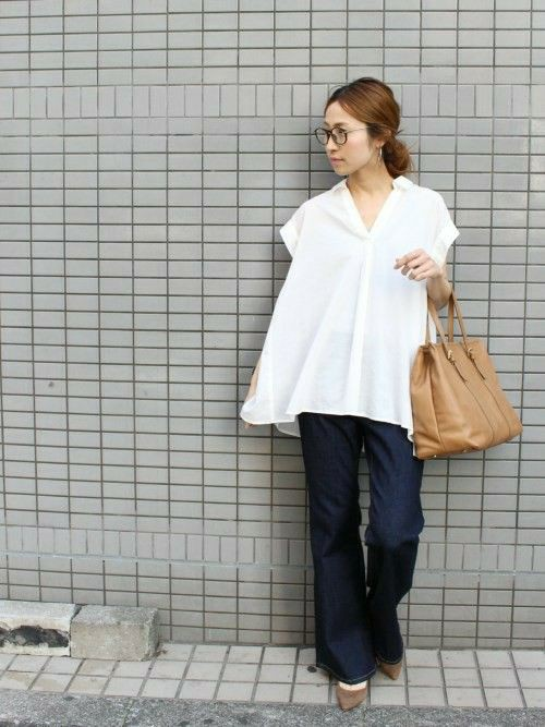 White colour ideas with trousers, jeans, skirt