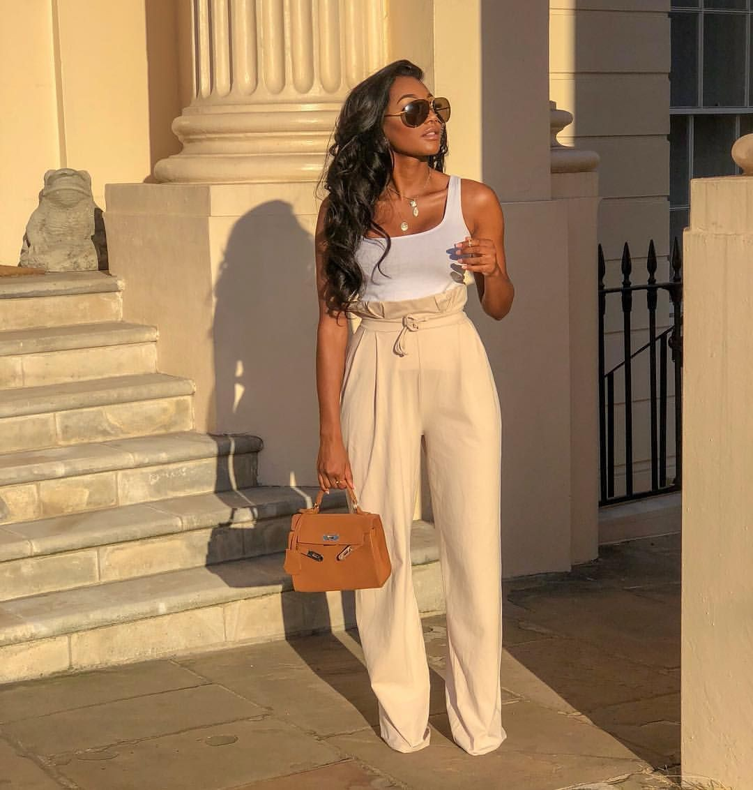 Brown and khaki outfit Pinterest with fashion accessory, trousers