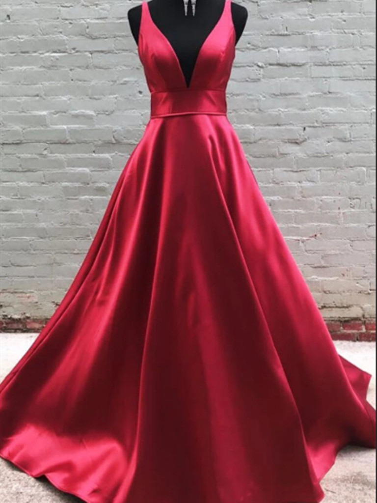 Style outfit burgundy prom dress bridal party dress, bridesmaid dress