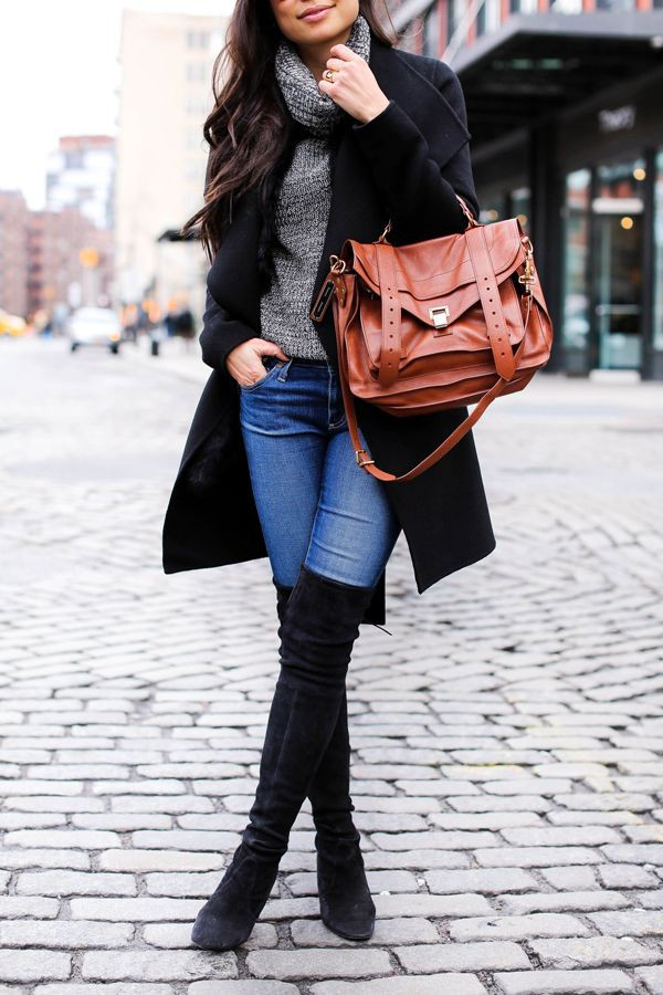 Stuart weitzman boots with jeans