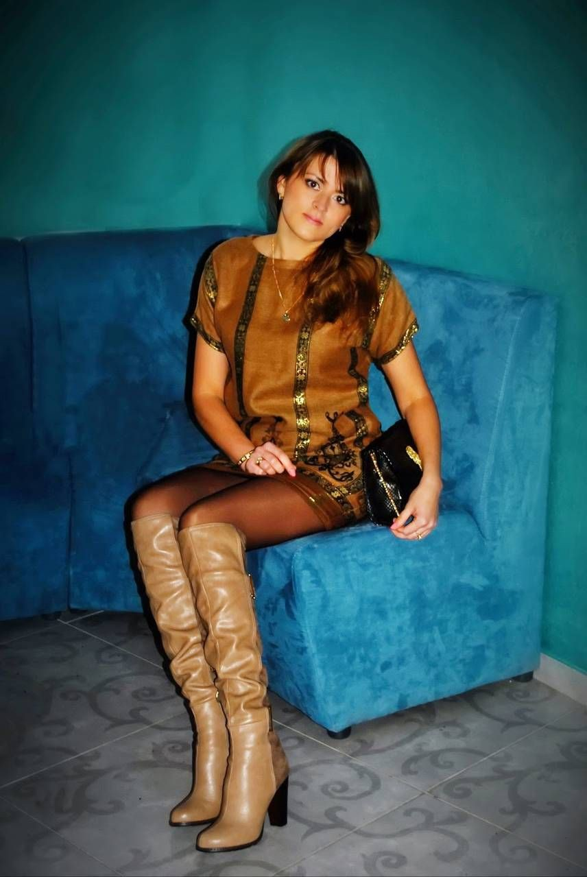 Turquoise outfit Pinterest with leather
