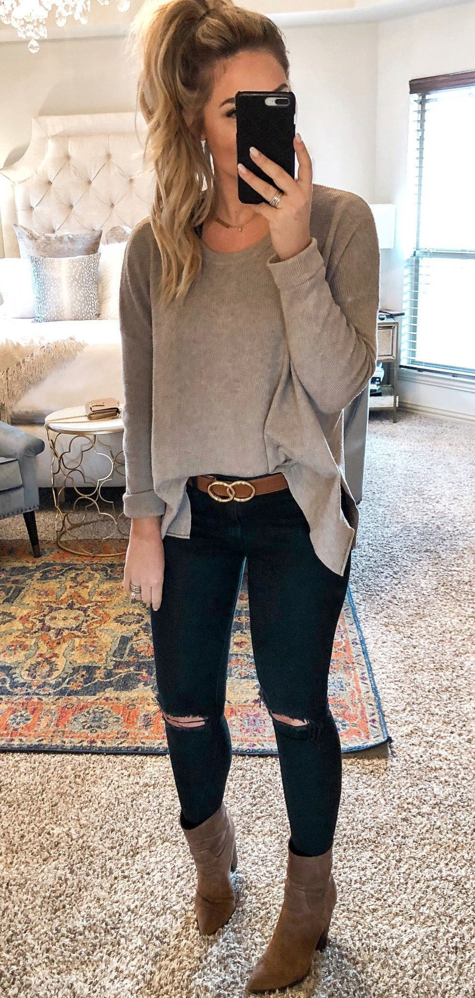 Beige and brown trousers, jeans, outfit designs
