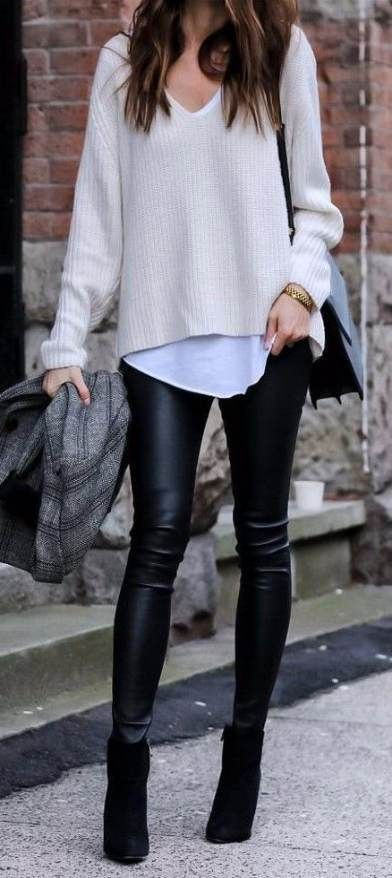 Outfit office invierno