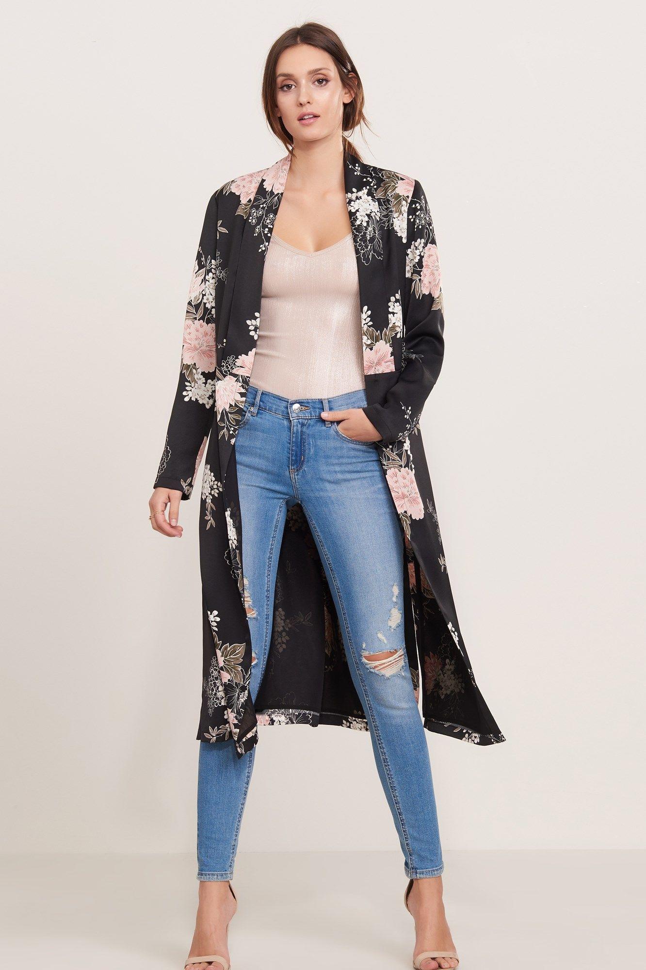 Clarissa Archer denim, jeans, coat outfits for women