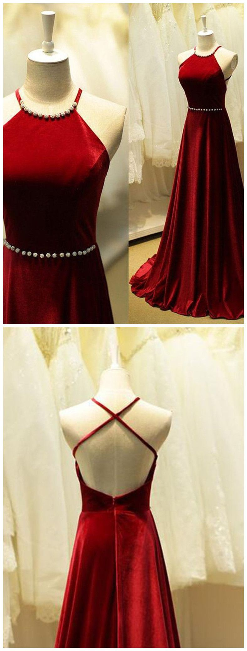 Evening gown for teenage girl