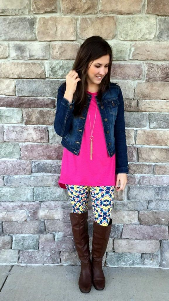 Lularoe leggings outfit ideas, street fashion, flip flops