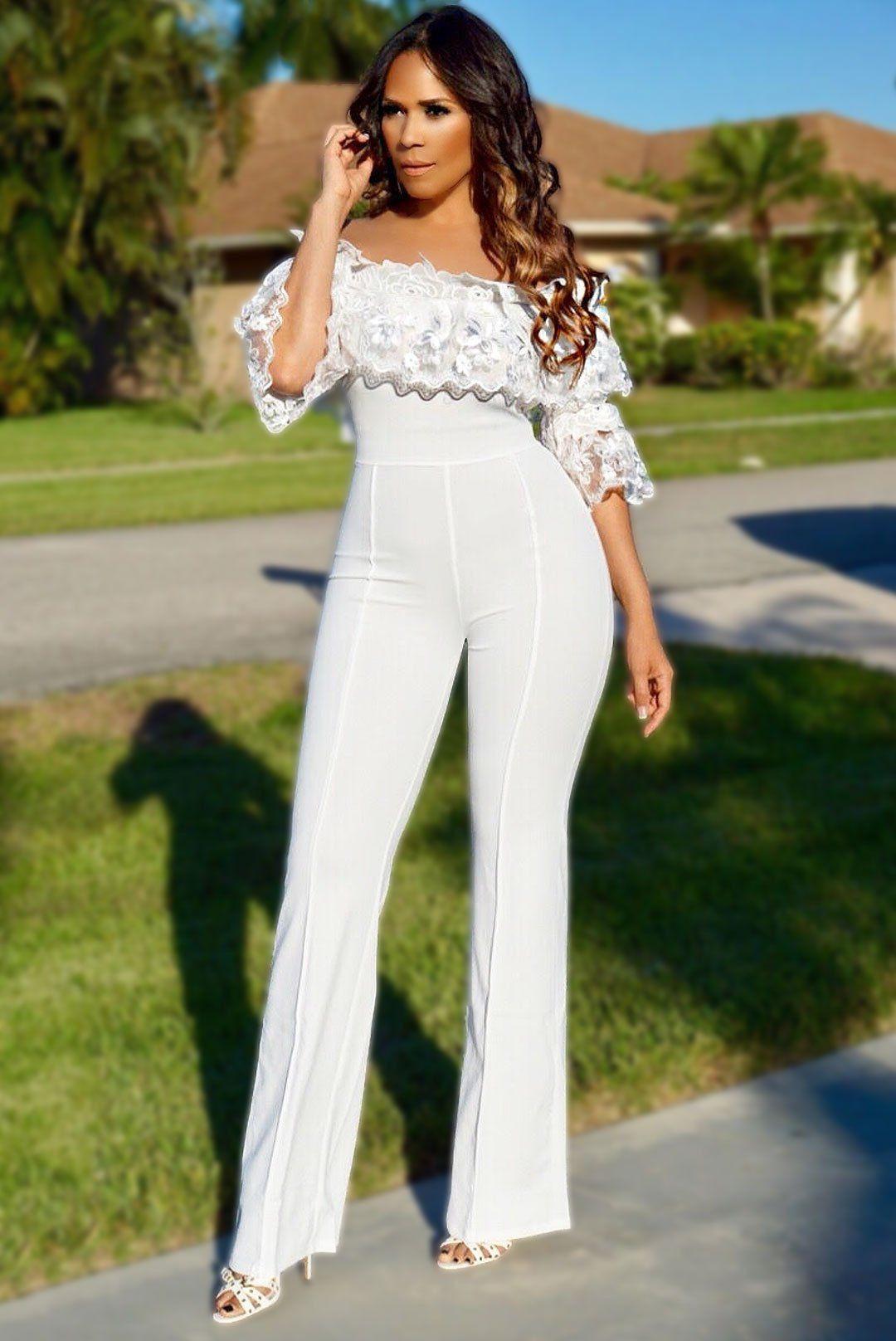 Colour outfit ideas 2020 white jumpsuit palazzo, wedding dress, fashion model, romper suit, t shirt
