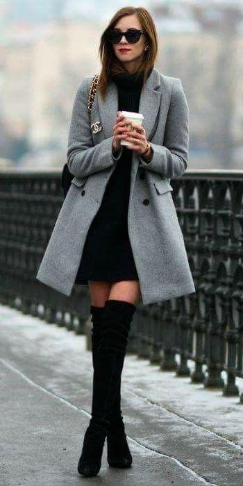 Attire with overcoat, coat