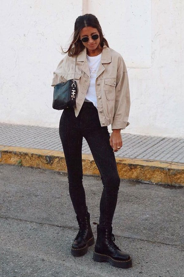 Brown and white classy outfit with fashion accessory, denim, jeans