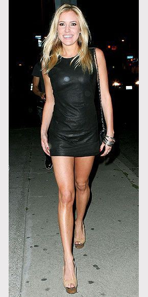 Kristin cavallari sexy dress little black dress, kristin cavallari