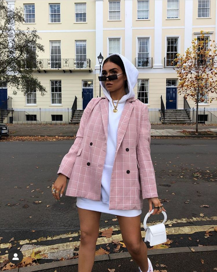 White and pink beautiful clothing ideas with tracksuit, swimsuit, trousers