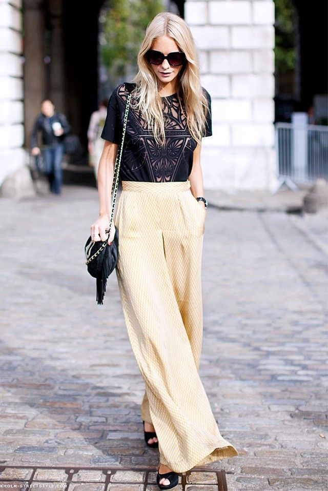 Wedding guest pants outfit ideas