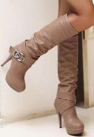 Botas de tacones bonitas thigh high boots, high heeled shoe, knee high boot