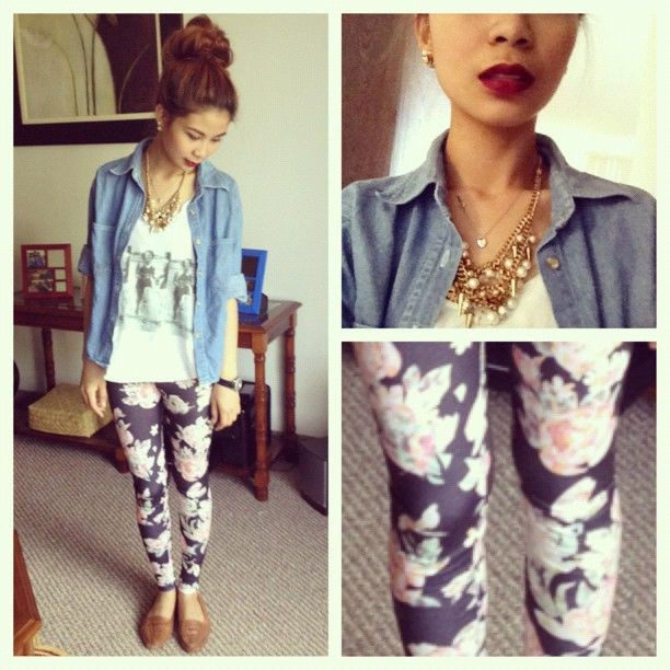 White colour outfit, you must try with leggings, jacket, denim