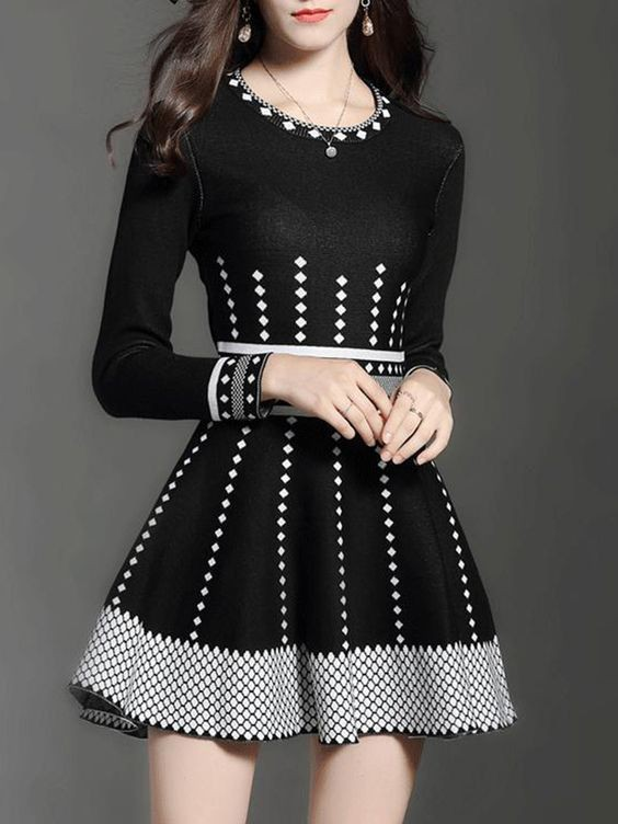 black outfits for girls with cocktail dress, costumes designs