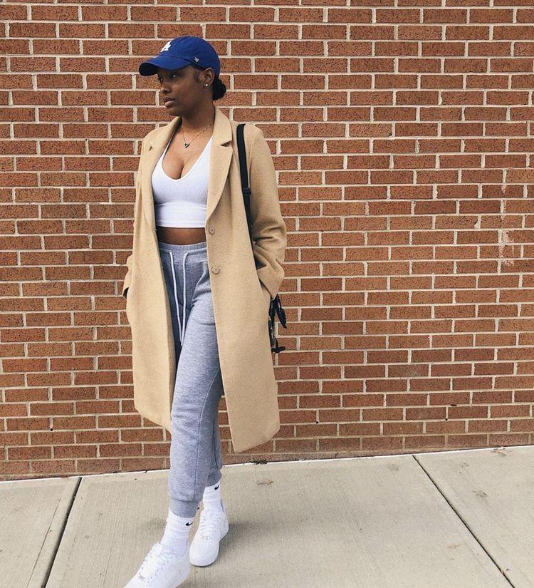 Naysha Wiley sportswear, jeans, denim clothing ideas