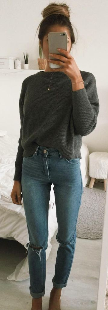Straight leg jeans winter, winter clothing, casual wear