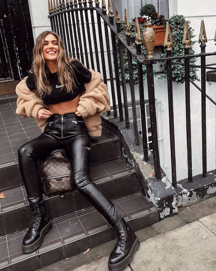 Nemo Smith knee-high boot, leggings, leather dress for girls