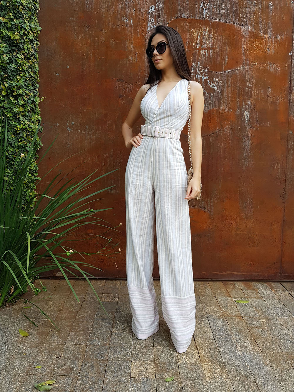 White clothing ideas with romper suit, trousers