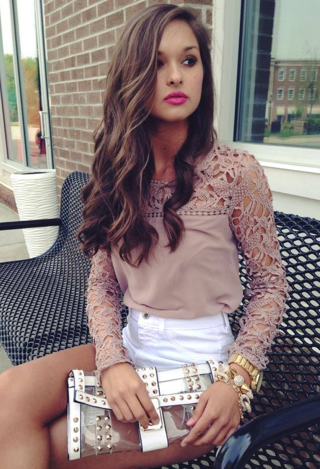 Dressy long sleeve tops, dress shirt, photo shoot, brown hair, long hair, t shirt