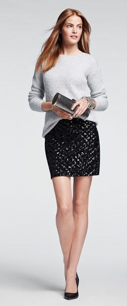 White colour outfit, you must try with school uniform, pencil skirt, miniskirt