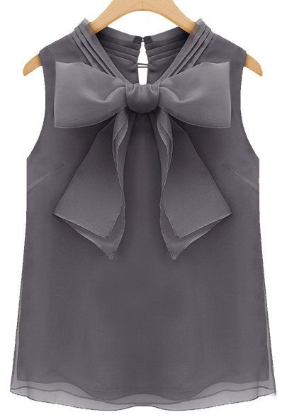 Dresses ideas organza tops styles, fashion accessory, sleeveless shirt, bow tie