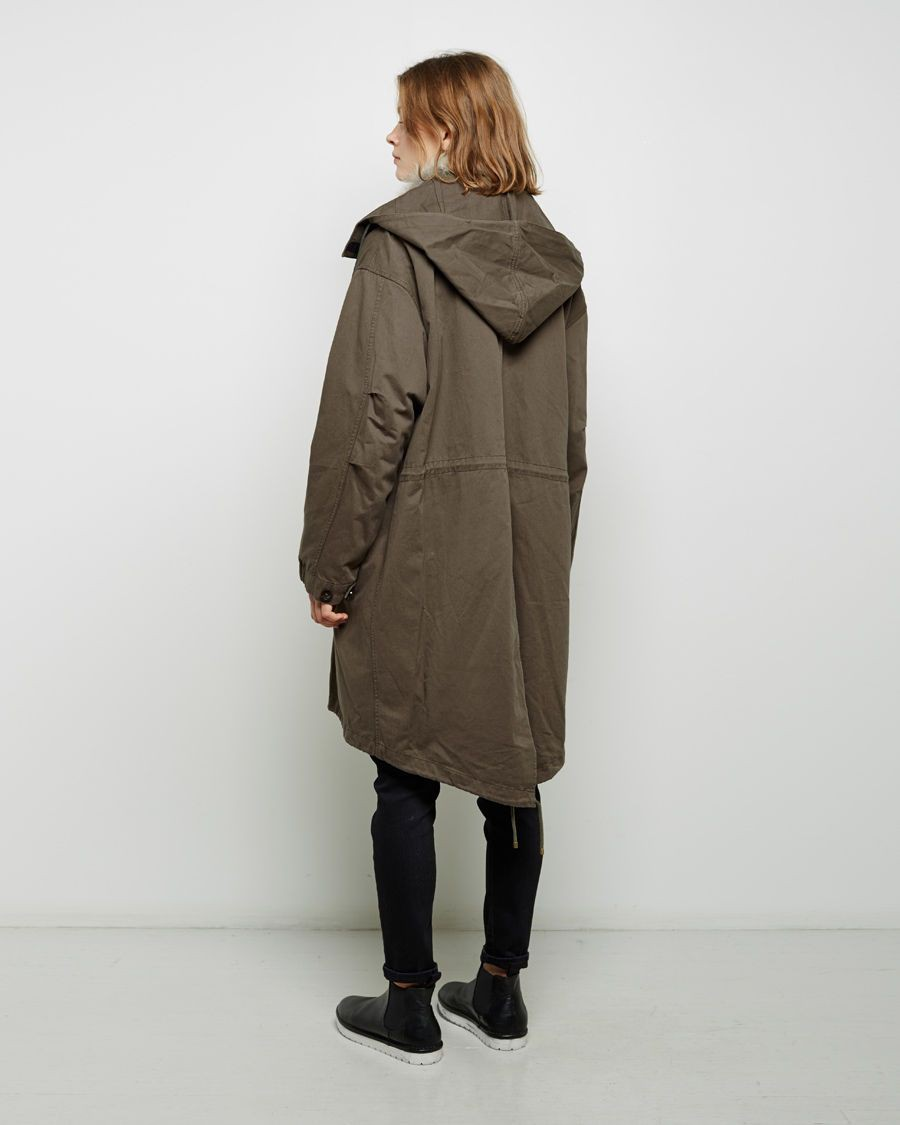 Khaki style outfit with trench coat, overcoat, jacket