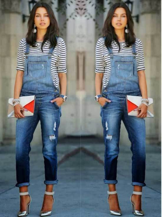Chic overalls outfit