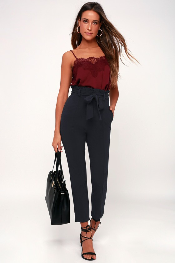 Black outfit ideas with formal wear, leggings, trousers