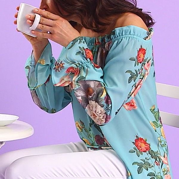 Colour combination with nightwear, pajamas, blouse