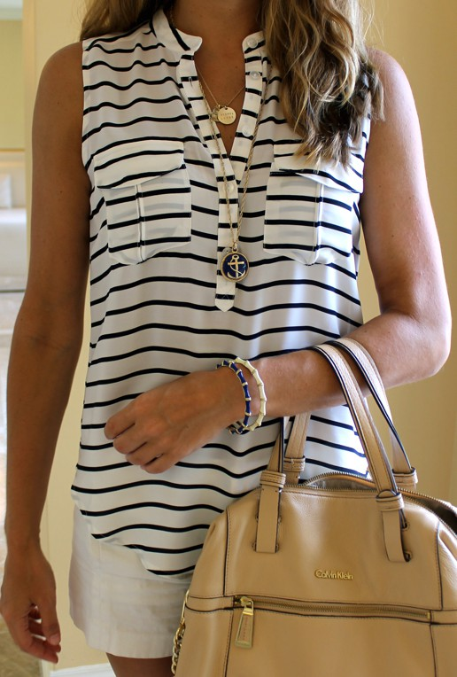 Beige and white instagram fashion with fashion accessory