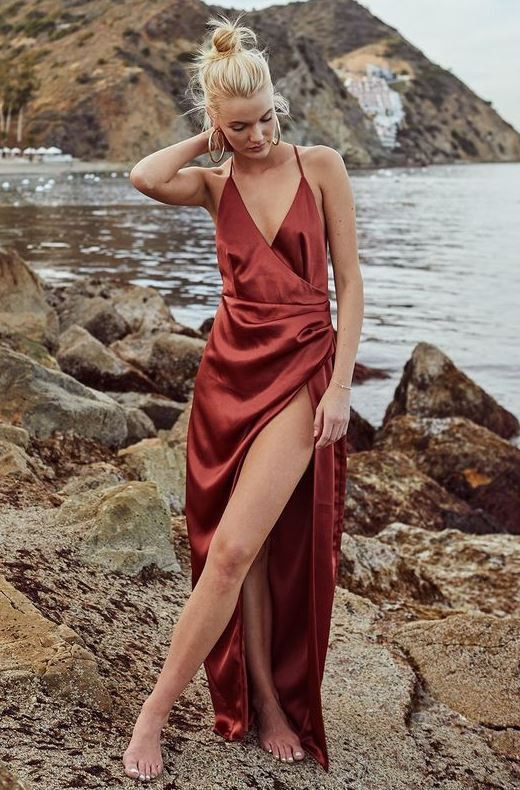 Trendy clothing ideas with gown maxi dress, trousers, skirt