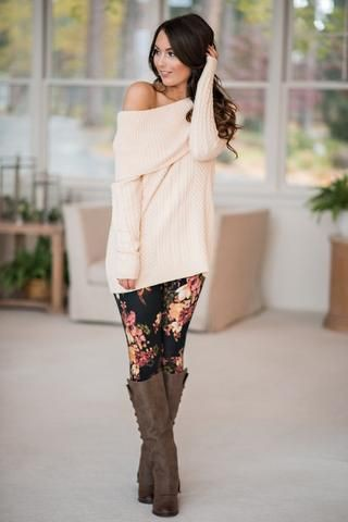 Colour combination printed legging outfits, fashion accessory, denim skirt