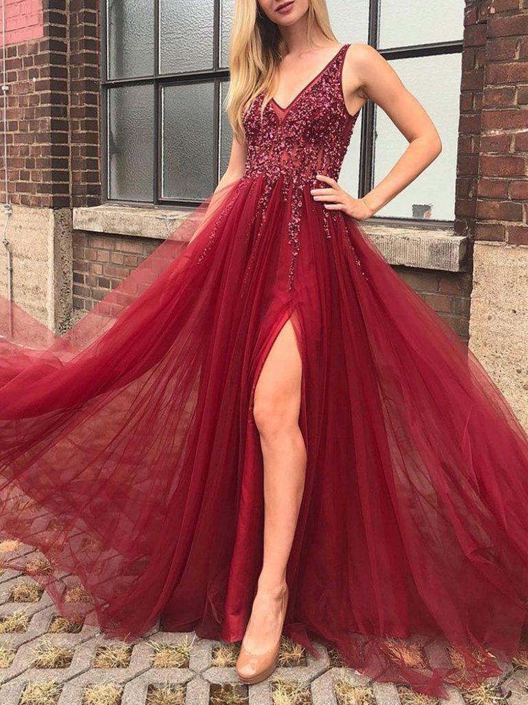 Red trendy clothing ideas with evening gown, gown