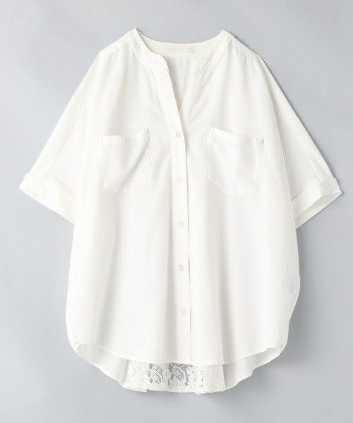White colour outfit, you must try with dress shirt, blouse, shirt