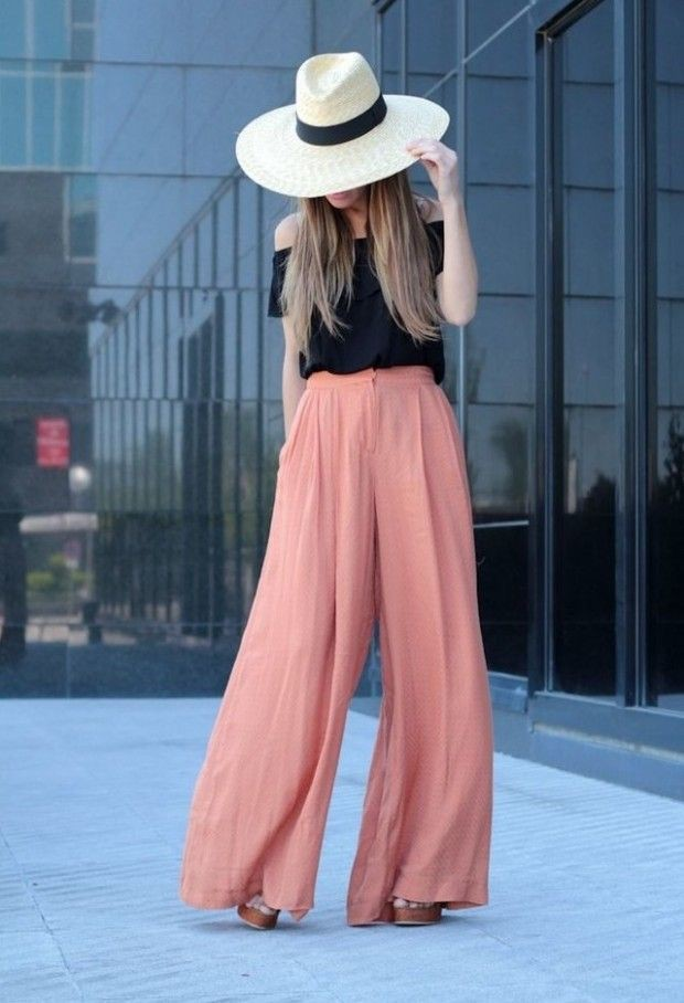 Classy outfit big pants outfit slim fit pants, street fashion