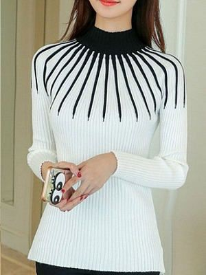 Black and white t-shirt, blouse, top