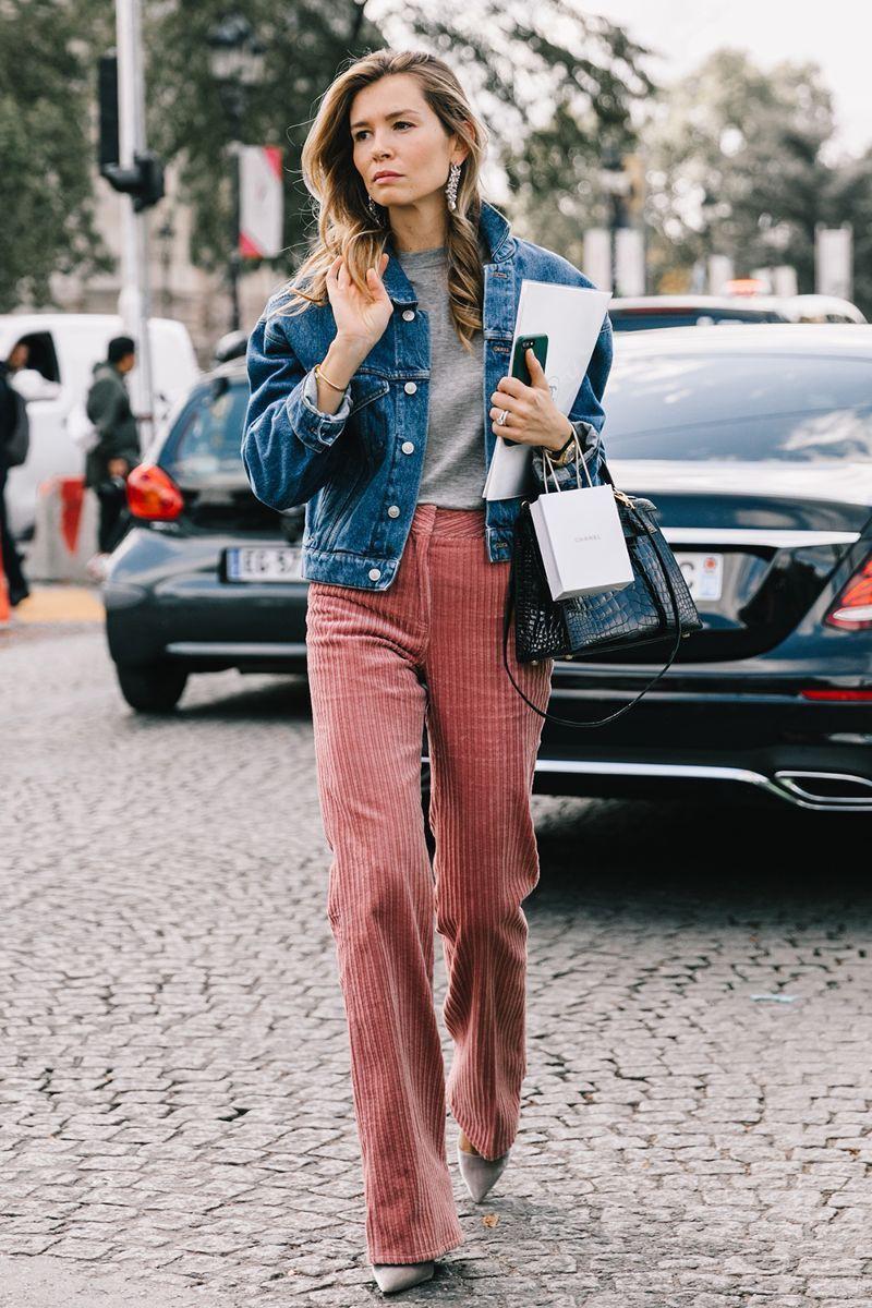 Denim jacket street style, street fashion, jean jacket, t shirt