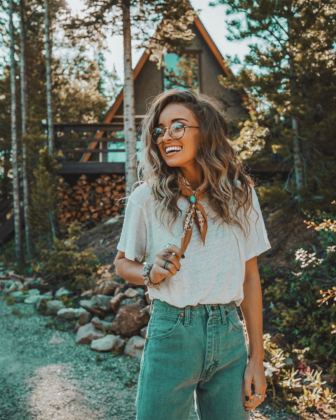 Turquoise and yellow colour outfit ideas 2020 with jeans