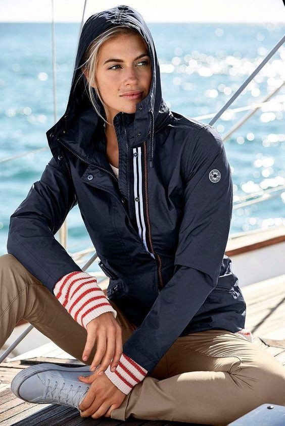Outfit instagram yachting style preppy, casual wear, photo shoot