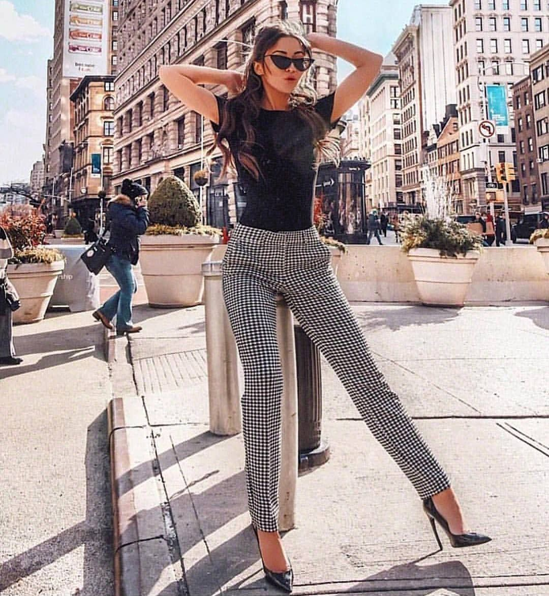 Instagram fashion with business casual, trousers, denim, jeans