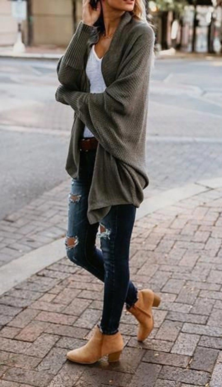 Brown colour ideas with sweater, blouse, shirt
