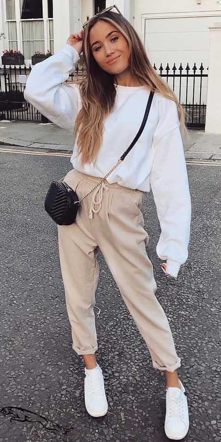 Outfit Stylevore cute jumper outfits, winter clothing, street fashion, casual wear