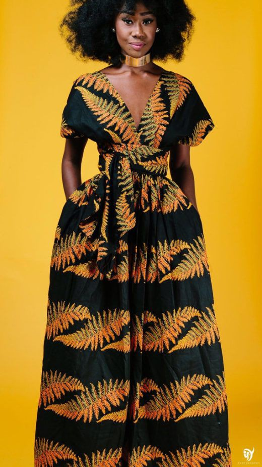 Colour outfit best african print african wax prints, fashion design