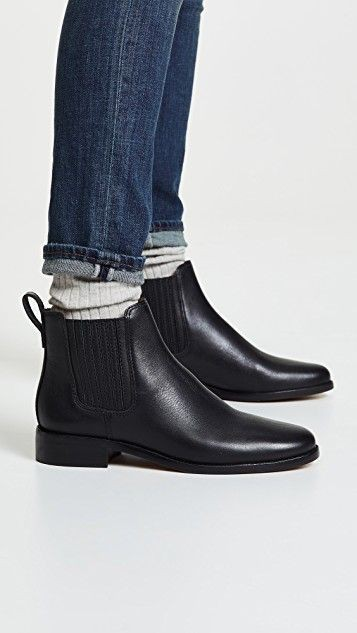 Madewell ainsley chelsea boot, womens boot, chelsea boot, durango boot, riding boot